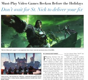 Game article